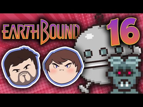 EarthBound: All Aboard the Sky Runner - PART 16 - Grumpcade