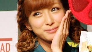 タレントの辻希美さんが11月5日、退院後の初の公の場として東京都内で開...