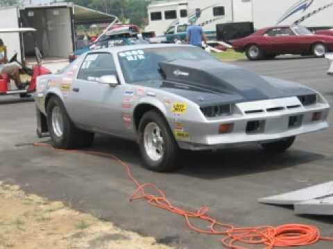 1984 Camaro Drag Car Youtube