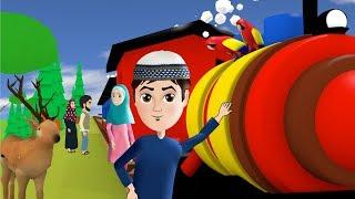 Abdul Bari toy train journey and Zikrullah on beutiful scenes Urdu