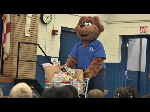 Special delivery for Bayview Elementary students