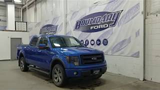 Pre-owned 2014 Ford F-150 SuperCrew FX4 402A W/ 5.0L, Leather Overview | Boundary Ford
