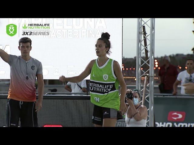 Top 3 mejores jugadas semifinales femeninas Master Barcelona Herbalife 3x3 Series 2021