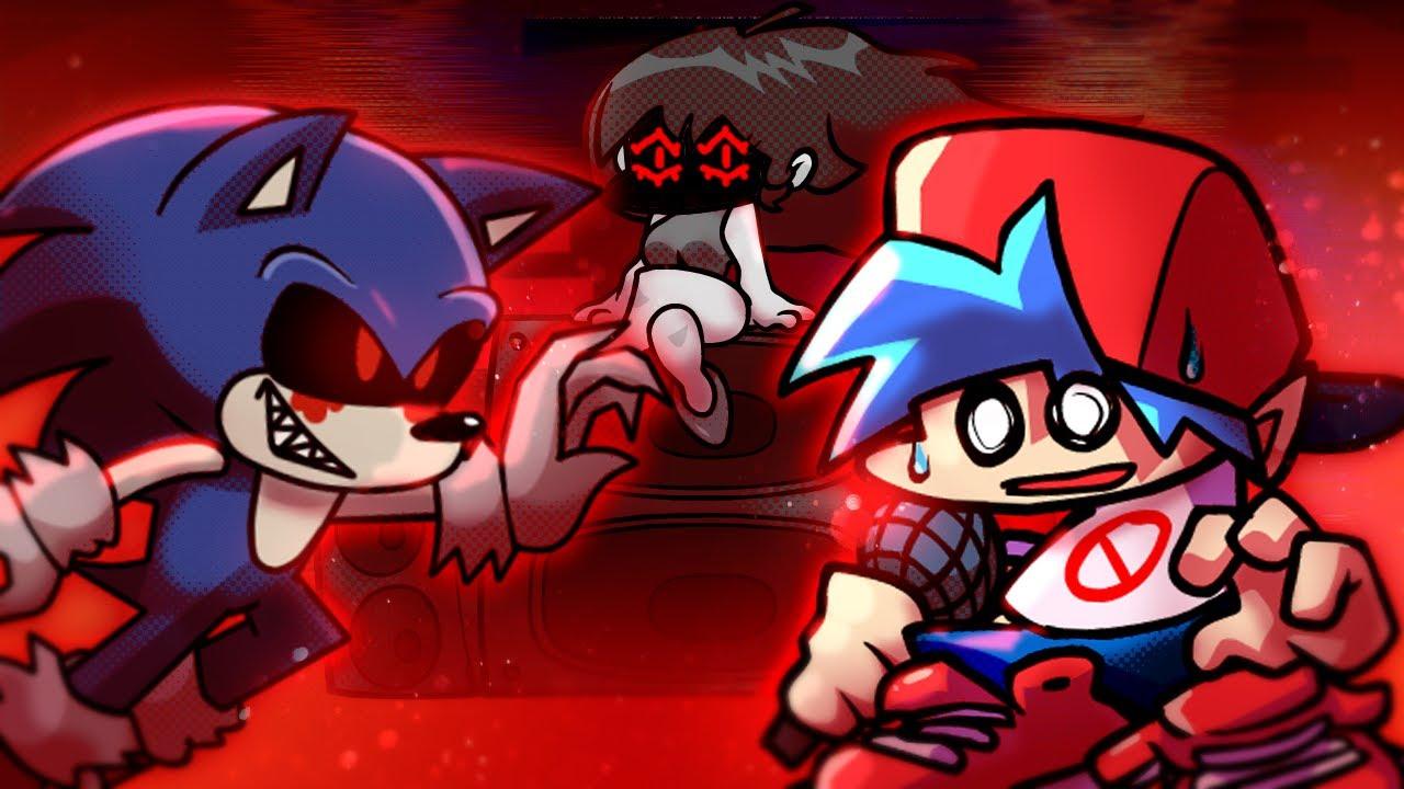 Sonic.exe, Tails Doll e o ROBOTNIK PINGAS no Friday Night Funkin! Mod - Core