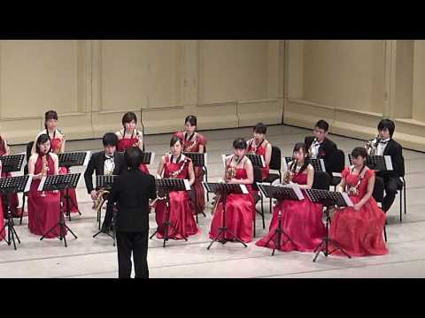Bach Toccata and Fugue in D minor Soai Saxophone Ensemble