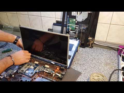 Замена шлейфа матрицы ноутбука