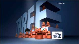 BBC Three ident - Three is the magic number