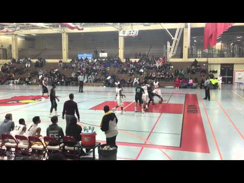 Kostas Antetokounmpo dunk -- Dominican High School