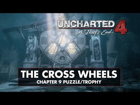 Uncharted 4 • Chapter 9 Puzzle Solution • Trials and Tribulations Trophy  •  The Cross Wheels