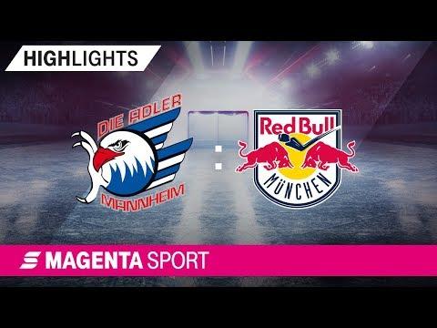 Adler Mannheim - EHC Red Bull München | 3. Spieltag, 19/20 | MAGENTA SPORT