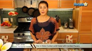 How To Make Curried Lentil Salad With Candied Pecans