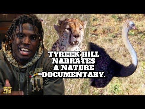 3 Cheetahs vs. 1 Ostrich: Tyreek Hill Narrates a Nature Documentary