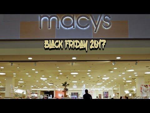 Black Friday 2017 - Macy