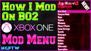 HOW I MOD ON BLACK OPS 2 ON XBOX ONE! (EASY MOD ROUTINE!) MOD MENU TUTORIAL!