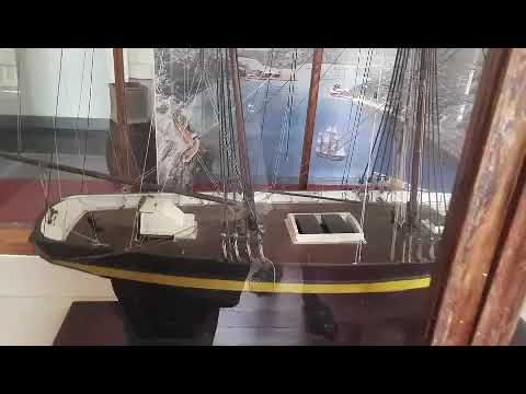 Nelson-Dockyard-Museum-ship-model-video-wooden-ship-model-cast-your-anchor