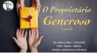 O Proprietário Generoso - Graça que Transforma - Estudo 04
