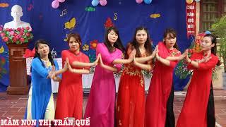 Tâm tình cô giáo mầm non (múa)- do các cô giáo Trường mầm non thị trấn Quế thể hiện #03