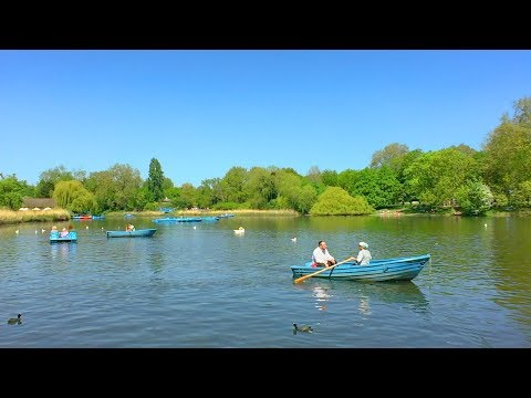 LONDON WALK around Regent's Park Boating Lake and Inner Circle incl. Japanese Garden | England