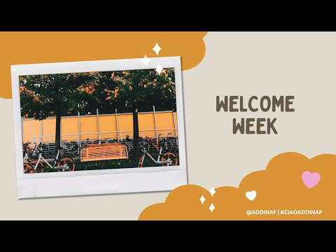 #3 Ciao Milano | Welcome Week | by: addinaf