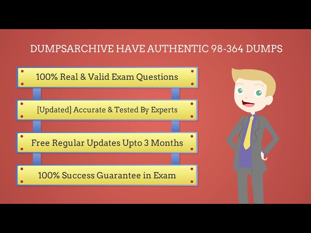 98-364 Dumps | 100% Updated Microsoft 98-364 Dumps PDF For Success