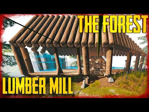 BUILDING THE LUMBER MILL - S5 EP19 | The Forest
