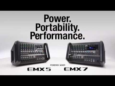 Yamaha Powered Mixer EMX7/EMX5