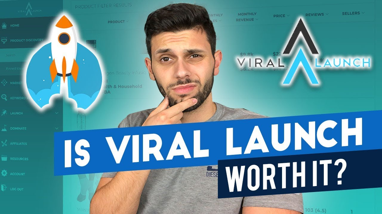 viral launch net worth