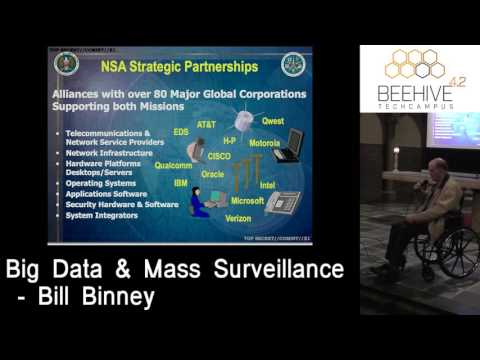 Beehive 4.2 Lecture: Big Data & Mass Surveillance by Bill Binney