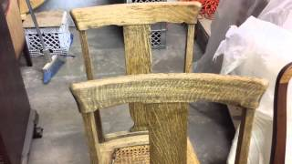 Oak Chair Refinishing At Timeless Arts Refinishing