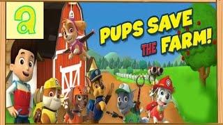 ЩЕНЯЧИЙ ПАТРУЛЬ спасает ферму МУЛЬТИК СМОТРЕТЬ,PAW PATROL saves farm,СОБАКИ СПАСАТЕЛИ игра