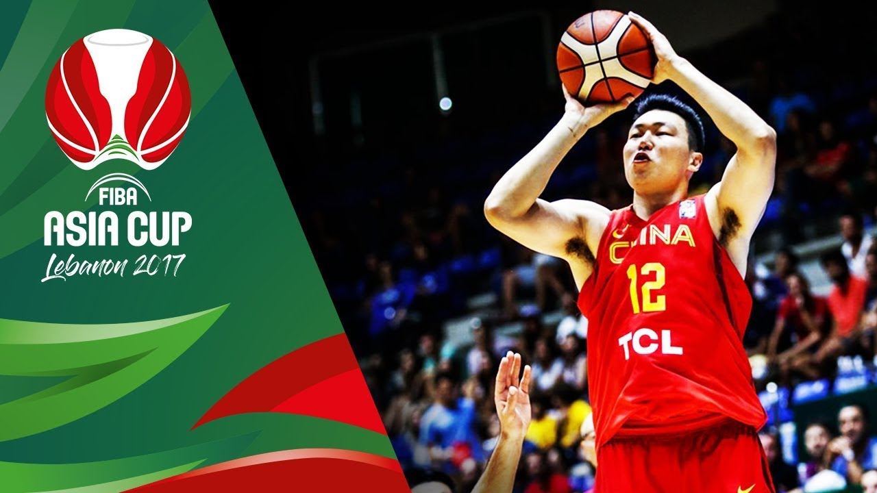 China - Offensive Highlights - FIBA Asia Cup 2017