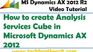43-Hoe u Analysis Services-Kubus in Microsoft Dynamics AX 2012
