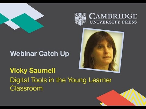 Digital tools in the young learner classroom