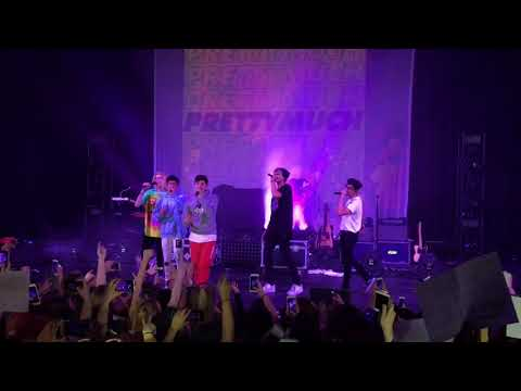 PRETTYMUCH Open Arms live in San Antonio 09/21/2017