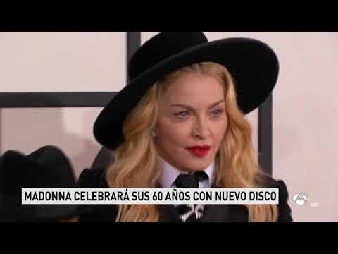 Madonna - Spanish TV News 03-08-18 - About New Album, 60th Birthday, Vogue Magazine And True Blue