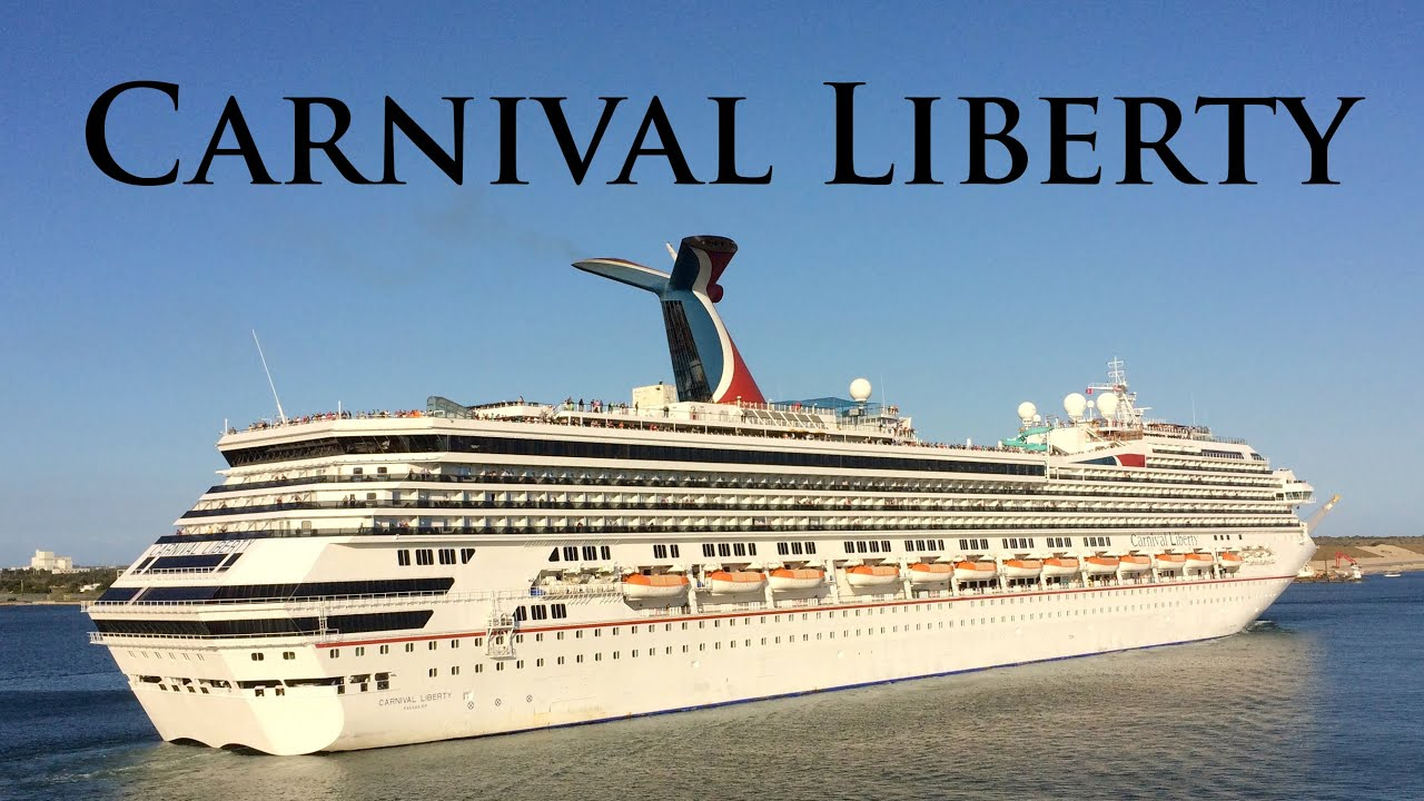 Carnival Liberty Departing Port Canaveral On YouTube - Pictures of carnival liberty cruise ship