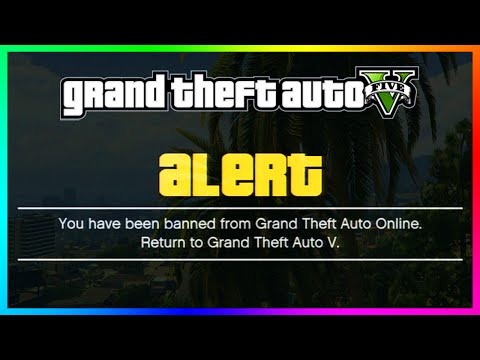 GTA 5 Online - WARNING! Other Players Can Possibly BAN You In Public Lobbies! (GTA 5 Gameplay)