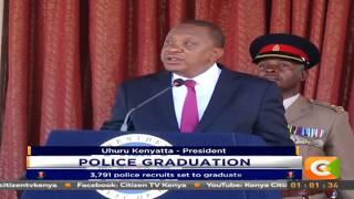 President Kenyatta presides over Police Graduation Ceremony
