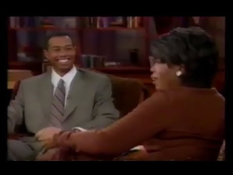 Tiger Woods interview with Oprah Winfrey after 1997 Masters victory (Full)