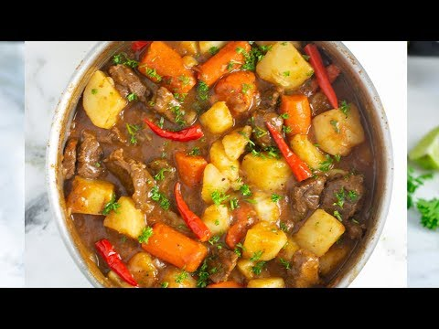 Easy Stewed Beef Potatoes