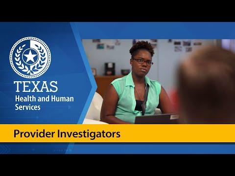 Provider Investigators