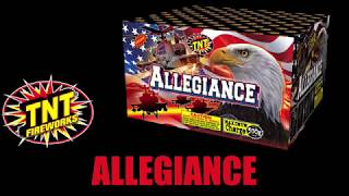 Allegiance - TNT Fireworks® Official Video