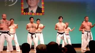 Sanchin Kata. Shohei-ryu (Uechi-ryu) Karate. 三戦型. 昭平流 「上地流」空手