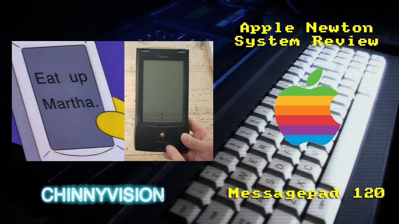 ChinnyVision - Ep 354 - Apple Newton Messagepage 120 System Review