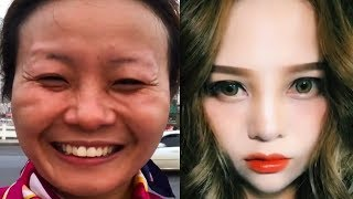 Asian Makeup Tutorials Compilation 2020 - Basic makeup guide / part62