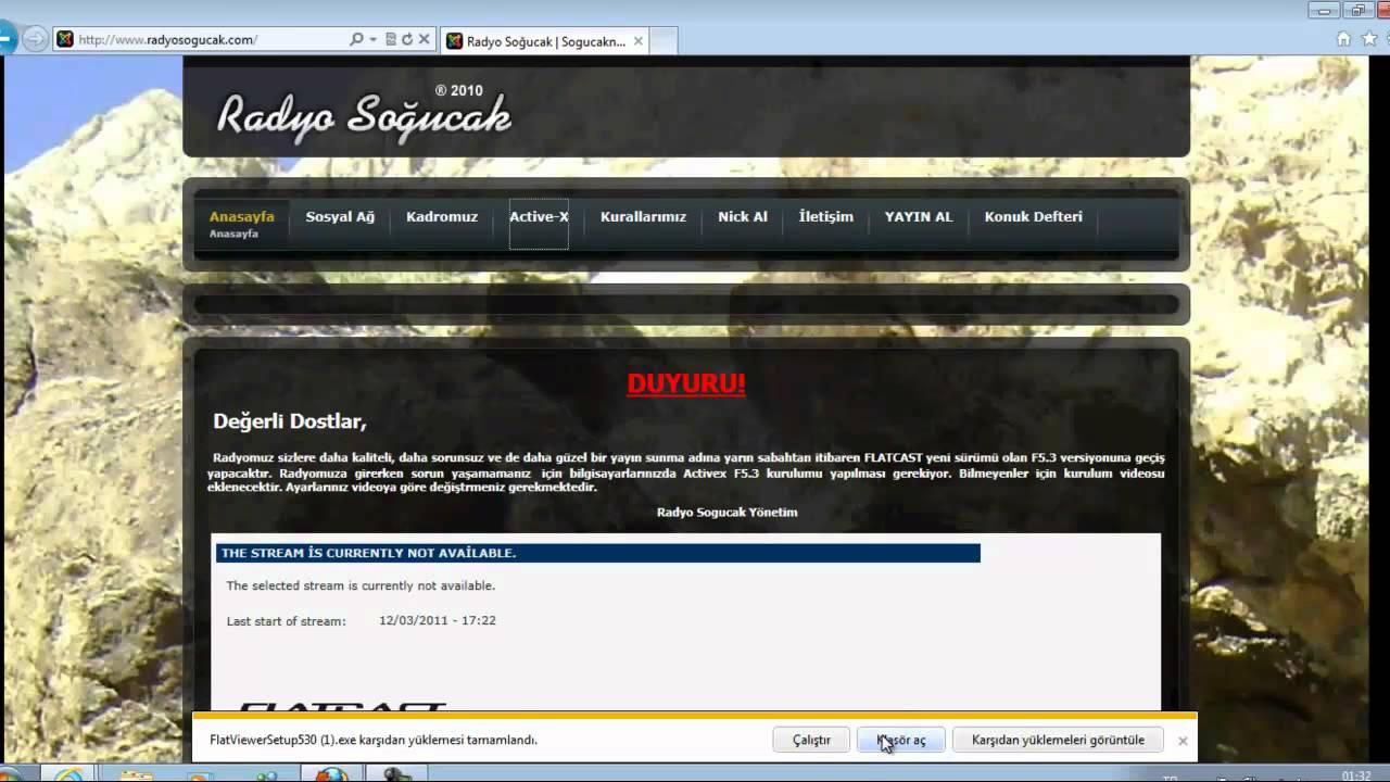 RADYO SOĞUCAK FLATCAST f5.3 KURULUMU - YouTube