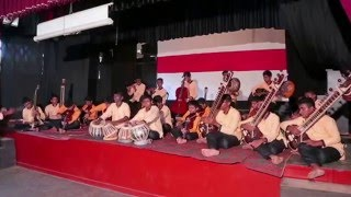 Rahula College, Matara - Orchestra ( in All Island Music Competition - 2015 )