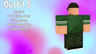 10 AWESOME FREE ROBLOX OUTFITS!!!!!