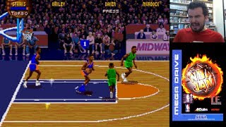 NBA JAM TOURNAMENT EDITION (Megadrive / SNES) - Gameplay en Español