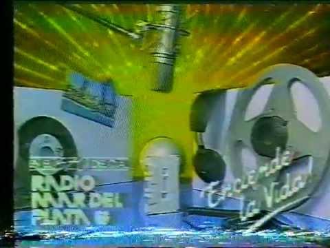 Publicidad LU9 Radio Mar del Plata con Chiche Vespoli 1989